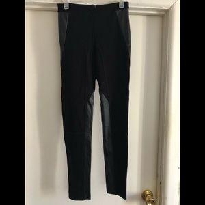 ❤️Madewell Panel Ponte Black Skinny Pants